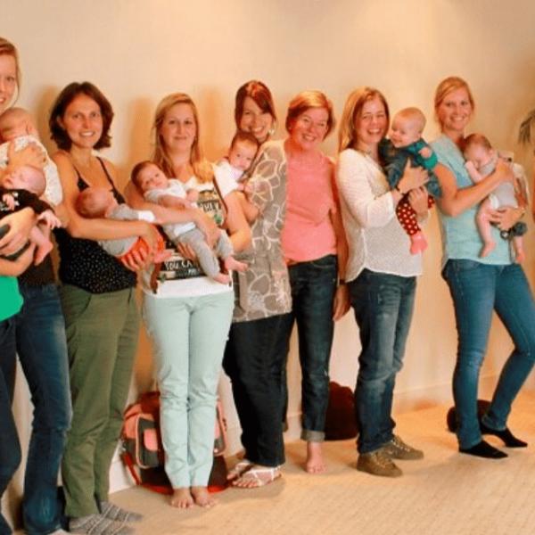 Zwangerschapsyoga-groep5